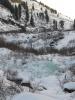 наледи в горах Хакасии