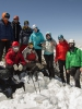 на вершине пика Учитель 4530 м (Киргизия)