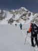 переход через Аксайский ледник