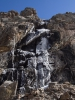 водопад у альплагеря Ала-Арча