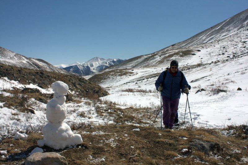 встреча со снеговиком