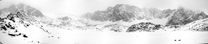 панорама у озера Эхой