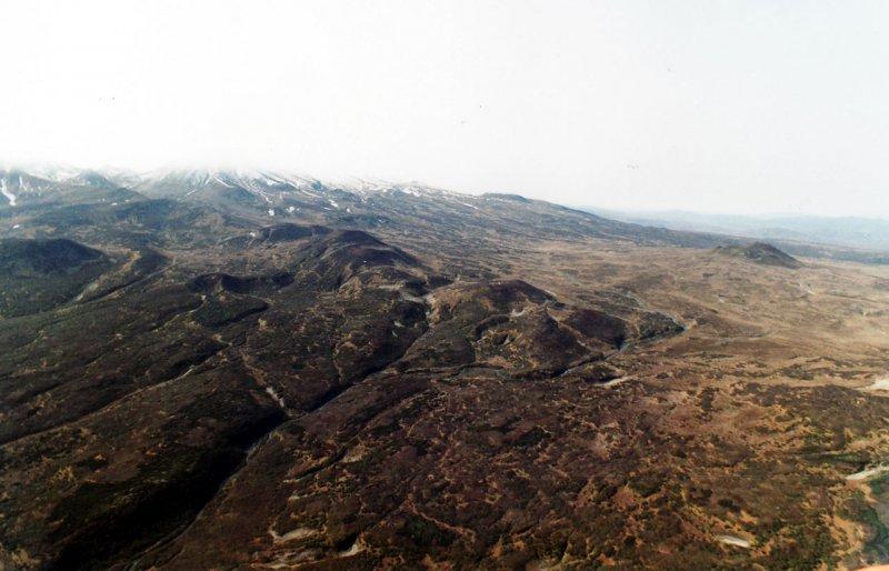 лавовые поля Камчатки