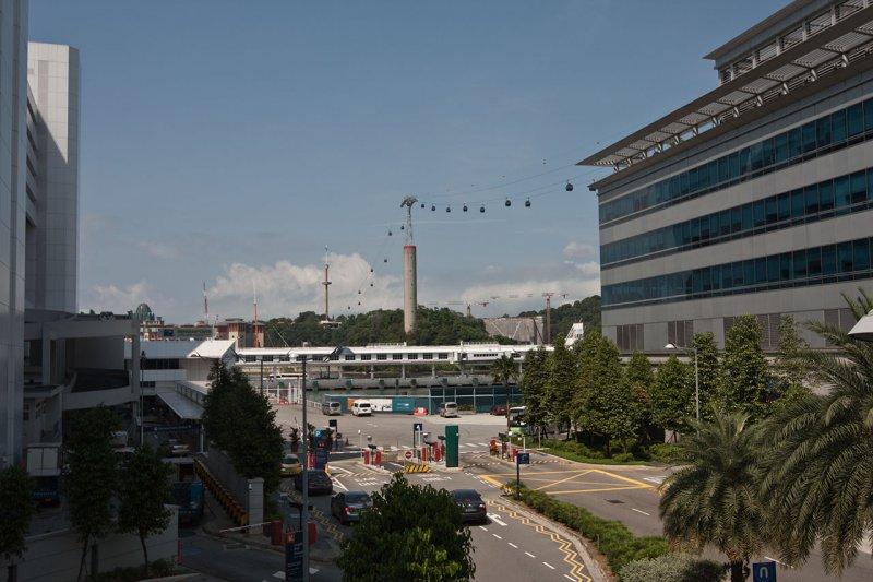 Канатная дорога на Sentosa (Сингапур)