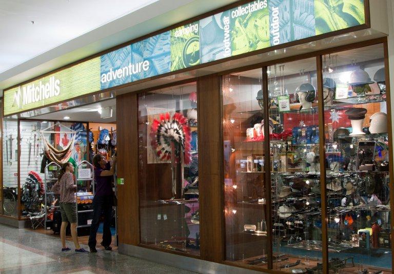 туристический магазин в Дарвине