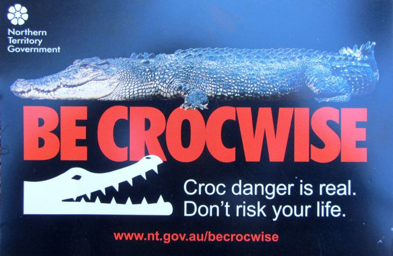 be crocwise!