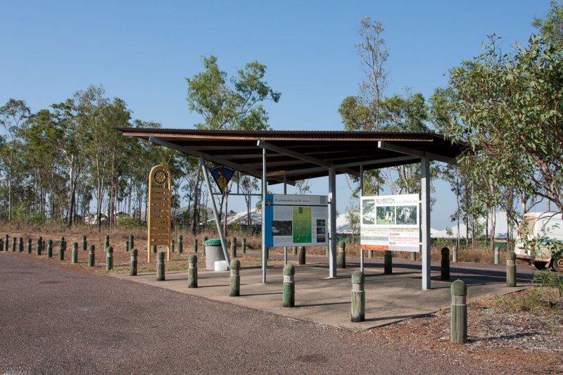 Information point, Stuart HW, Australia