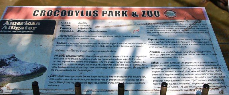 парк крокодилов и зоопарк в Дарвине