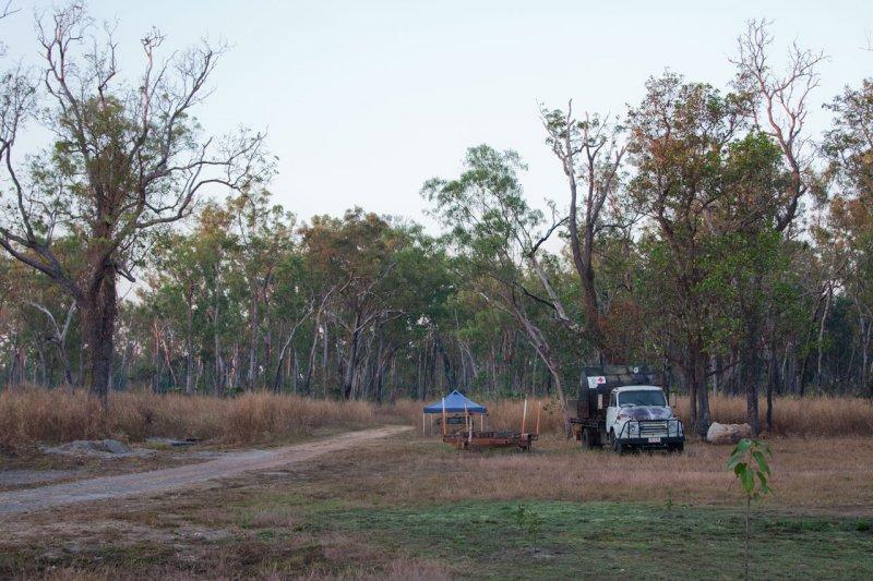 Corroboree Park campsite