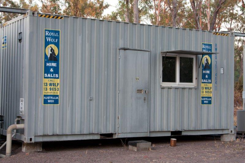 австралийские cabins (вблизи)