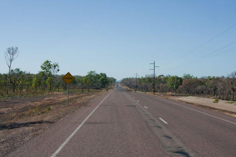 дорога в НП Какаду