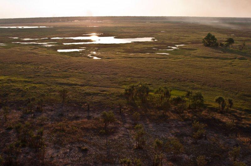 вид на долину Nadab (Ubirr)