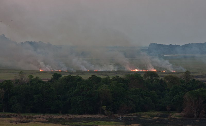 пожары в долине Nadab (Ubirr)