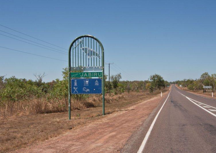 поворот на Jabiru