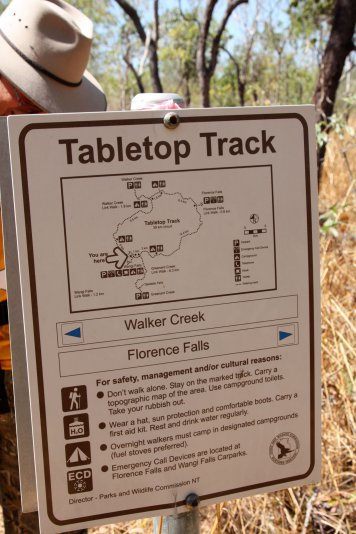 Litchfield NP, Tabletop track