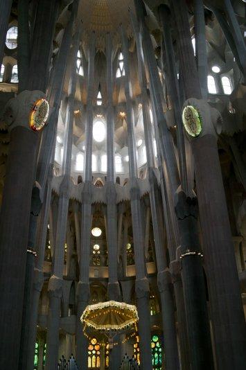 Собор Саграда Фамилия, Барселона, Испания