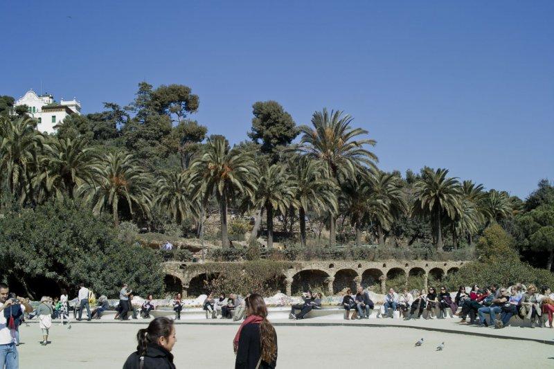 Парк Гюэль, Барселона, Испания