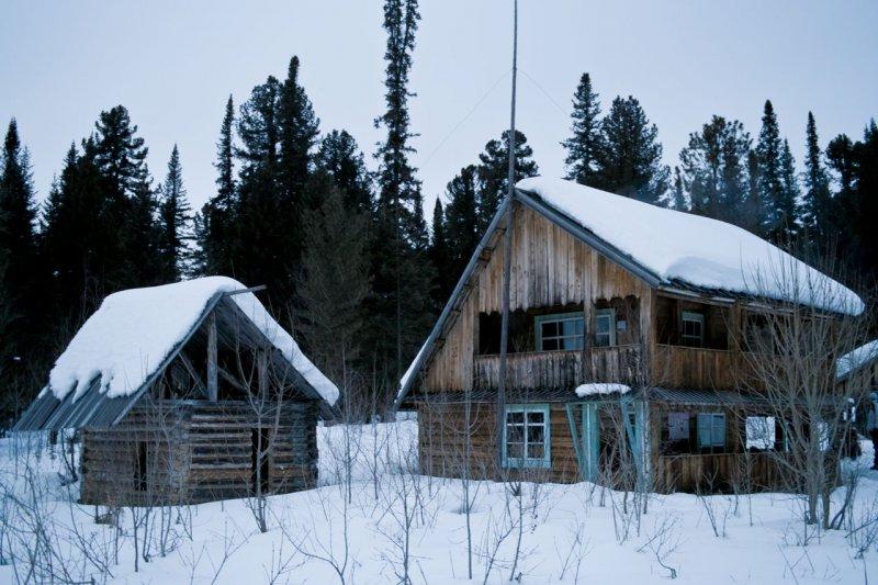 дом на Садринском озере