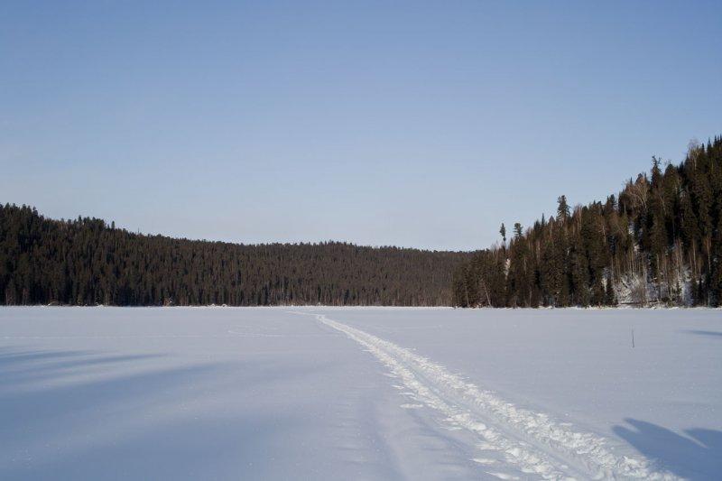 на Садринском озере