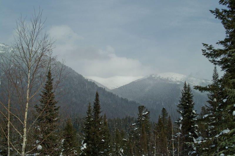 горы вокруг Тёплого Ключа