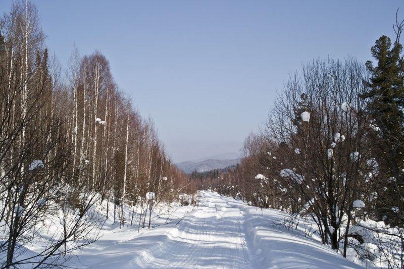 дорога к Бийке