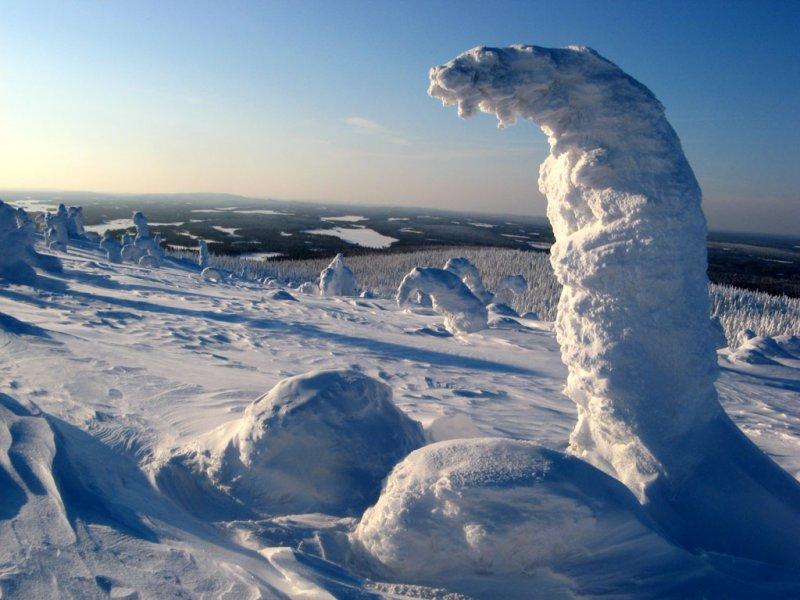 Планета снежных чудовищ