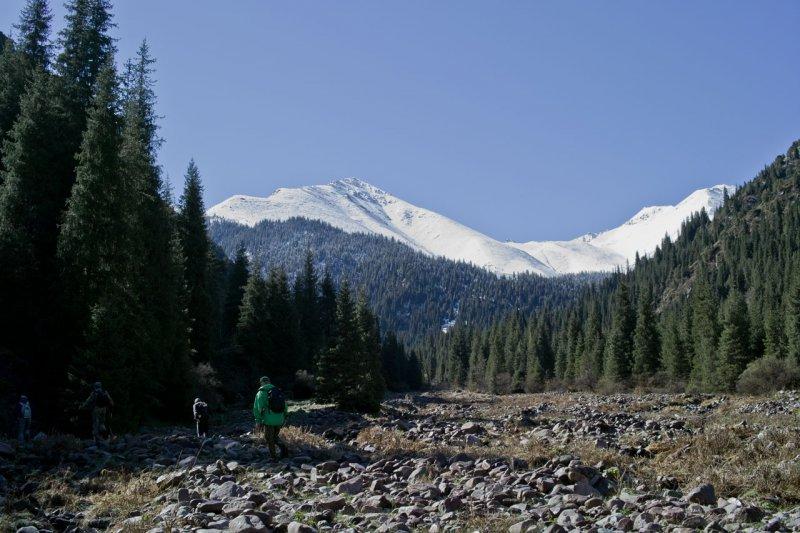 ущелье Кегети, Киргизия