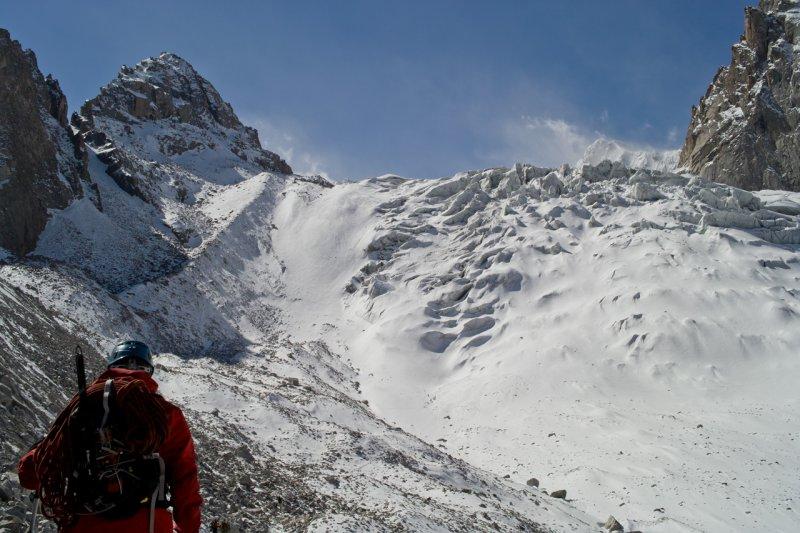 ледник Аксай, Киргизия