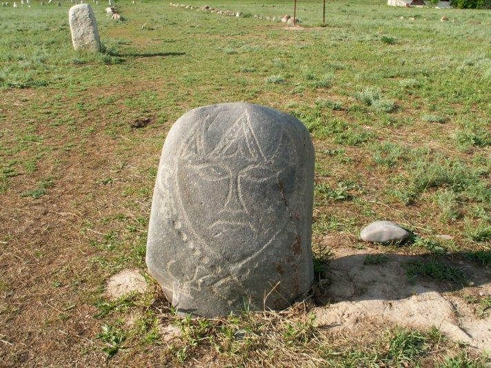 Балбалы - каменные идолы (VI - X вв.), Киргизия