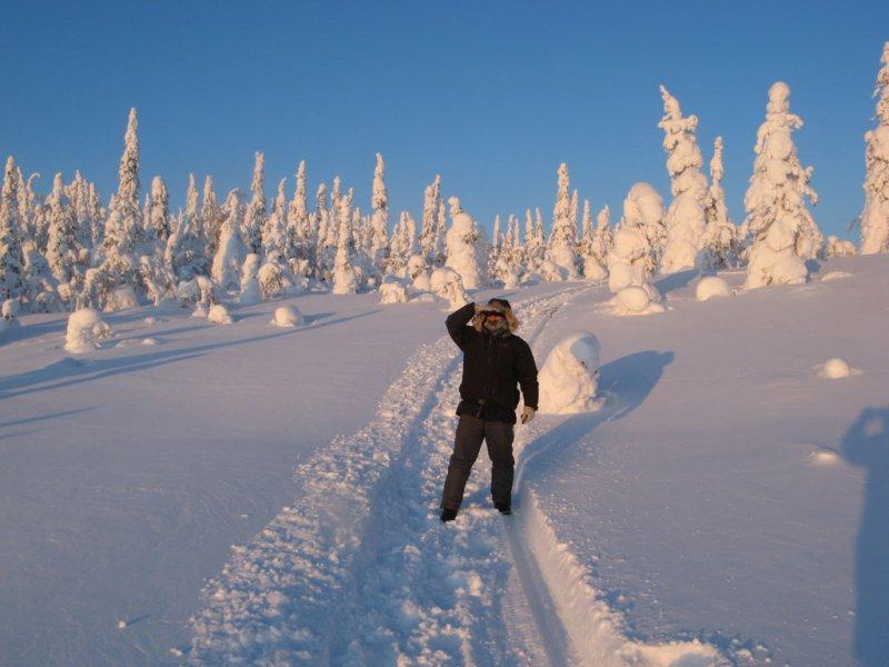 Далеко ли до финской границы?