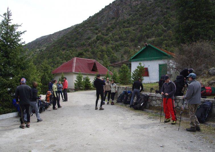 перед выходом в базовый лагерь