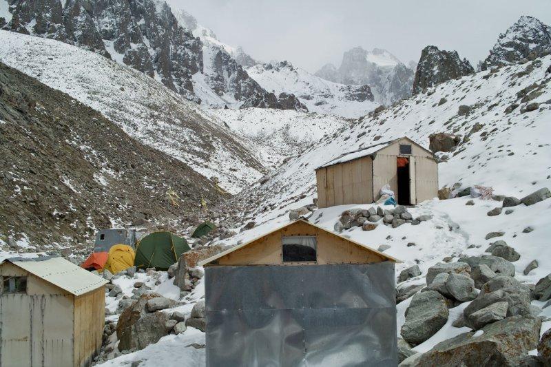 в альплагере Ала-Арча