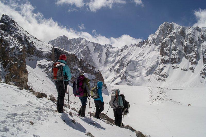 Киргизский хребет (альплагерь Ала-Арча)