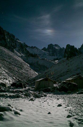 галос Луны (высотный альплагерь Ала-Арча)