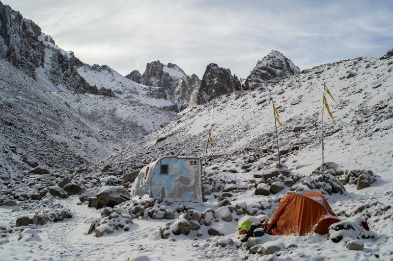 лагерь хижина Рацека