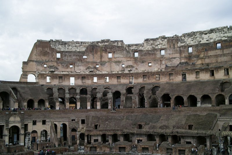 внутри Колизея, Рим, Италия