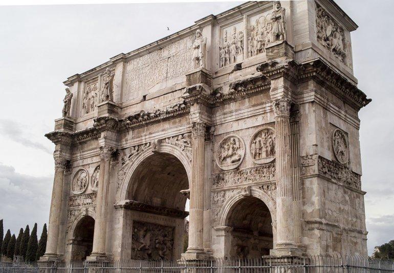 арка Константина, Рим, Италия