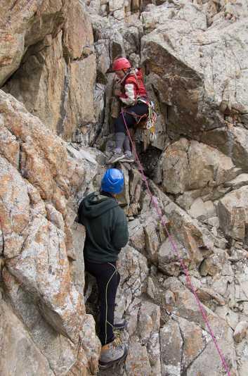 скальные занятия (альплагерь Ала-Арча)
