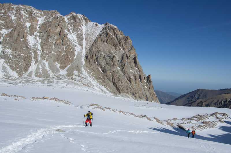 выход на Аксайский ледник (альплагерь Ала-Арча)