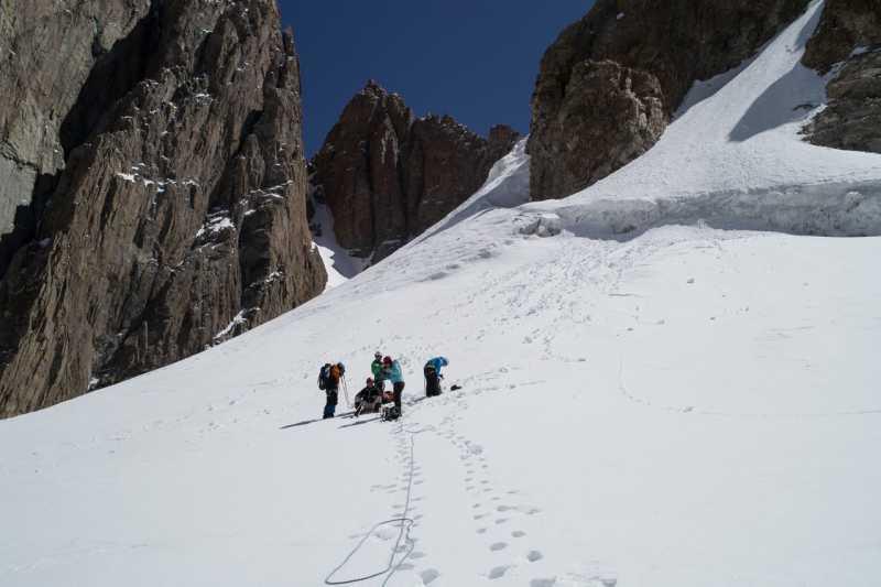 конец маршрута (альплагерь Ала-Арча)