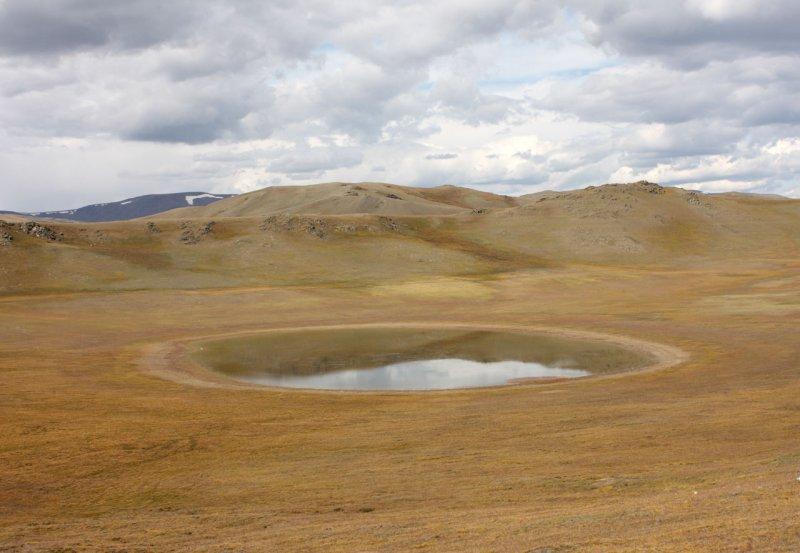 Озерцо в Тыве