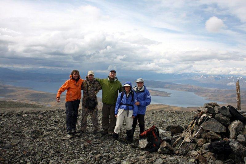 3188 m summit