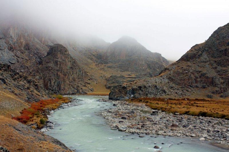 Туман над рекой Ак-Алаха