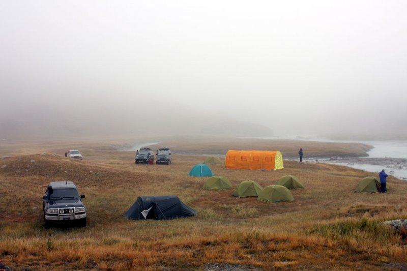 Лагерь у реки Ак-Алаха