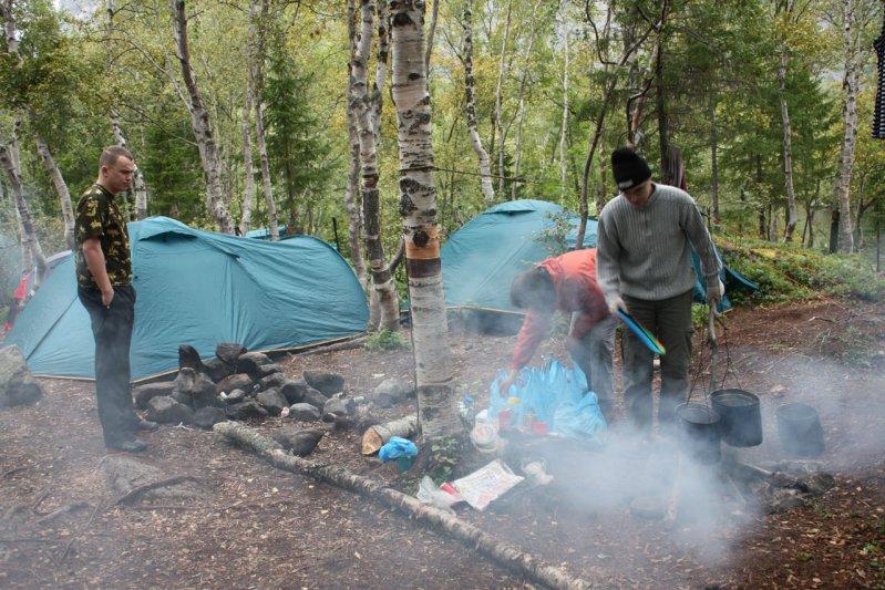 Лагерь на Сейдозере
