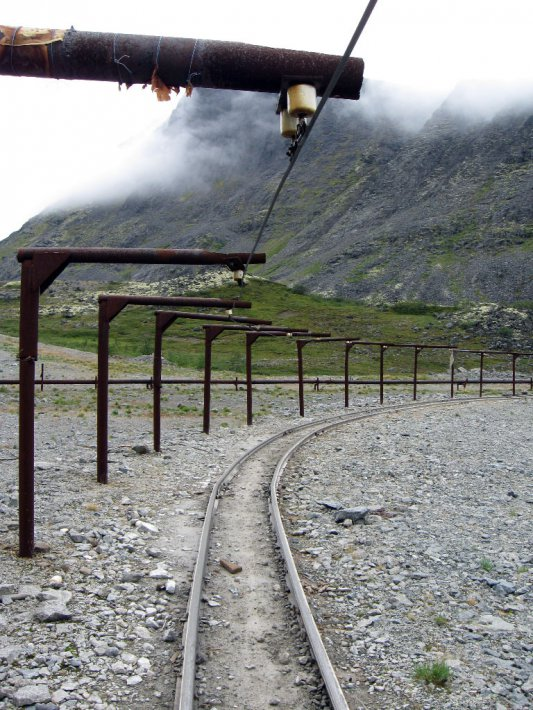 железка на руднике