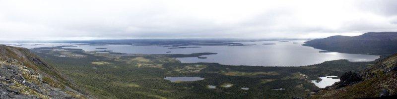 панорама на Ловозеро