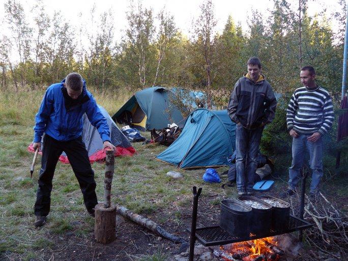 Снова в лагере