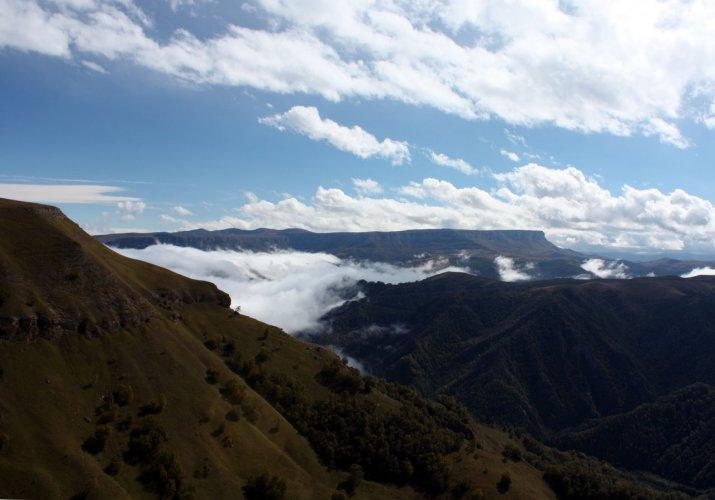 Вид на Западный Кинжал