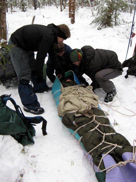 тренировка спасательных работ